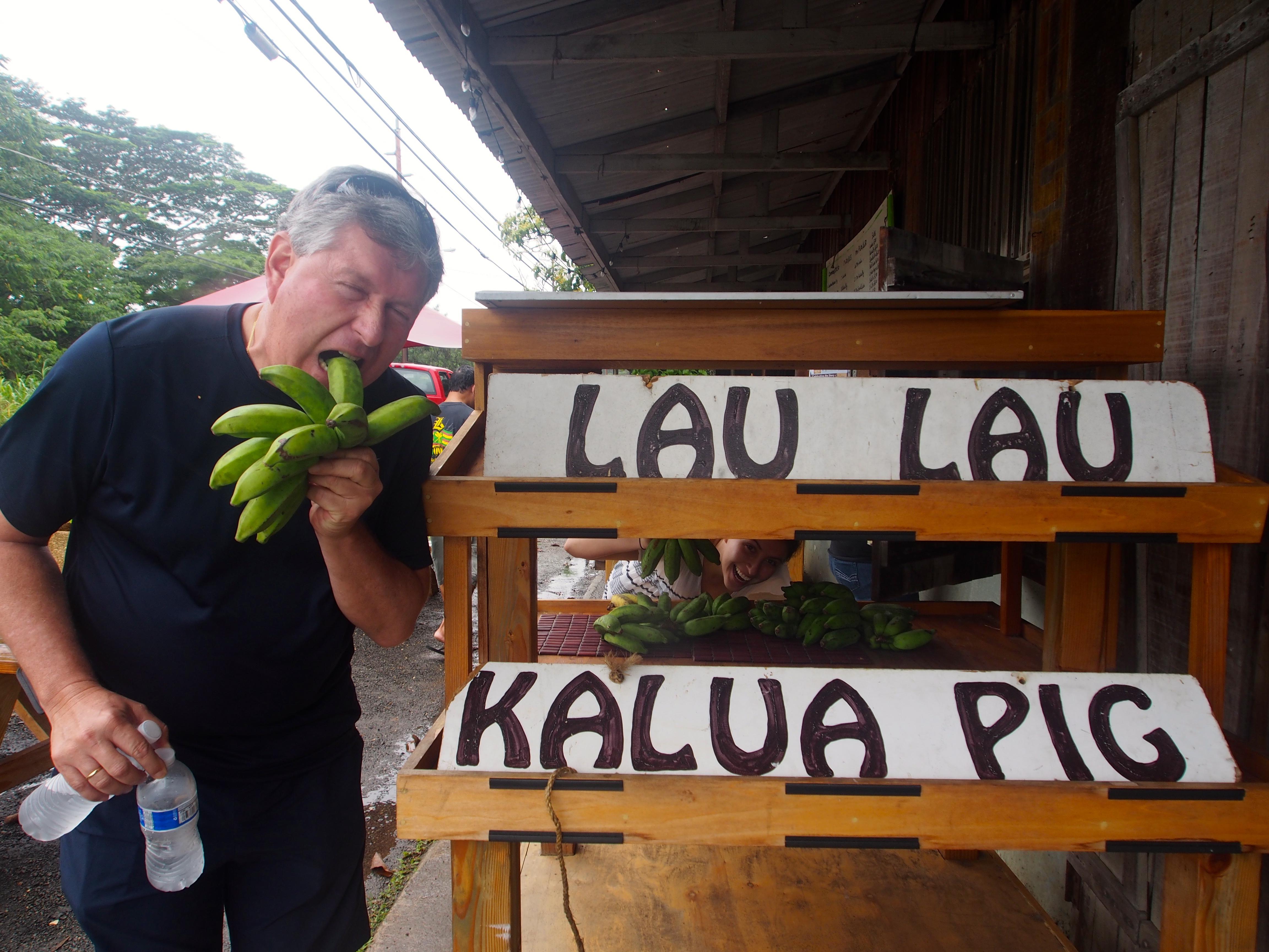 Lau Lau And Kalau Pig At Waiahole Poi Factorywhere Food Is I Am