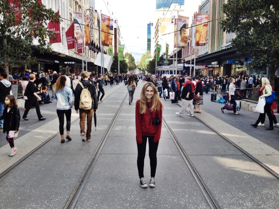 Bourke St Melbourne