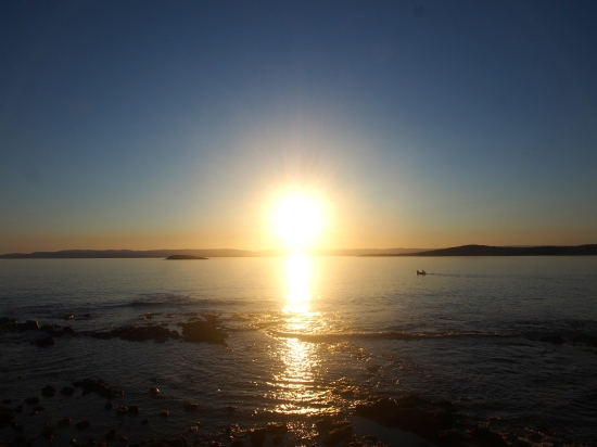 Sunset in Tasmania